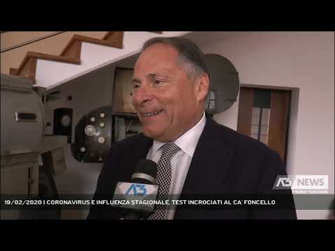 19/02/2020   CORONAVIRUS E INFLUENZA STAGIONALE, TEST INCROCIATI AL CA' FONCELLO