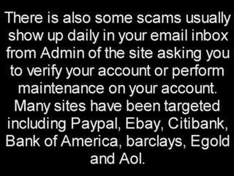 Work At Home Scams (Internet Scam)