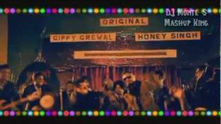 Angrezi Beat vs AviCii vs Hangover - DJ Monte ft. Gippy Grewal, Yo Yo Honey Singh, AVICII, Taio Cruz, Flo Rida