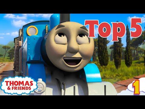 Thomas & Friends UK™ | Top 5 Cheeky Thomas Moments! | Best of Thomas Highlights | Kids Cartoon