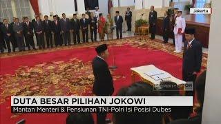 Video Presiden Jokowi Lantik 17 Duta Besar Baru RI, Termasuk Tantowi Yahya & Ikrar Nusa Bakti MP3, 3GP, MP4, WEBM, AVI, FLV Juli 2017