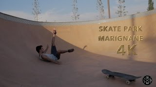 Marignane France  city photos gallery : Skate park - Marignane, France (4K)