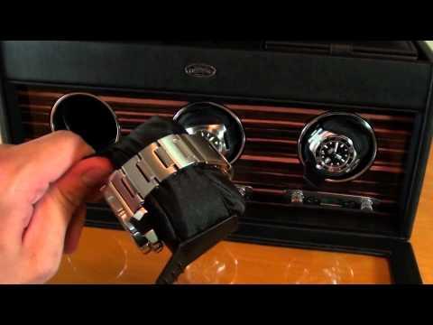 Wolf Roadster Triple Watch Winder Video Review