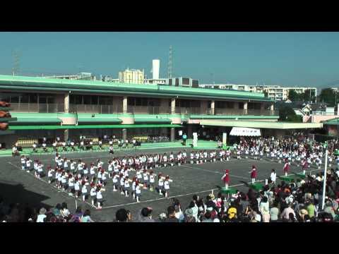 高ヶ坂幼稚園 運動会 鼓笛マーチング