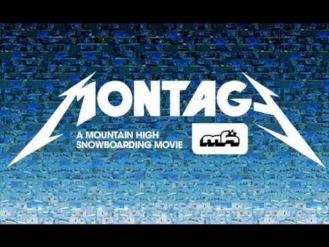 A Mountain High Resort Snowboarding Film