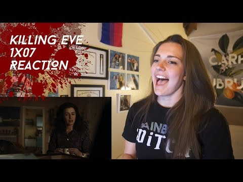 "Killing Eve Season 1 Episode 7 ""I Don't Want To Be Free"" REACTION"