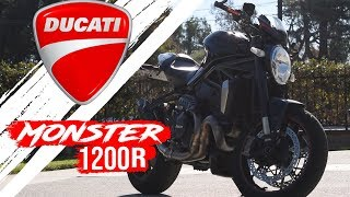 6. The Ducati Monster 1200R || A Motorcycle with BIG Balls, and an Even Bigger Price Tag