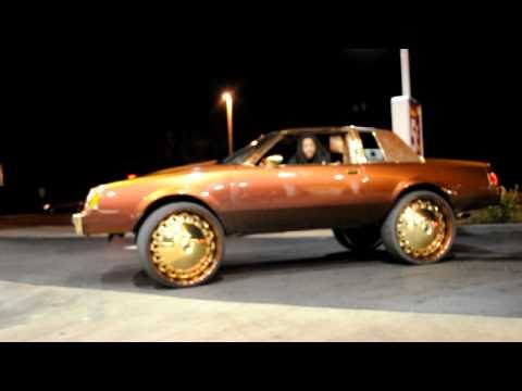 Buick Regal, 8's, Gold Operas