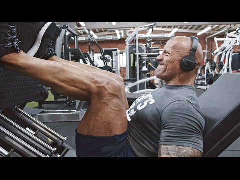 Leg Day in the Iron Paradise. BEND BOUNDARIES. | Dwayne Johnson Under Armour Campaign