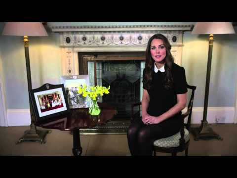 Cambridge - EACH Royal Patron, HRH The Duchess of Cambridge - video message supporting Children's Hospice Week.