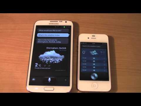 Samsung Galaxy Note 2 Vs Iphone 4s