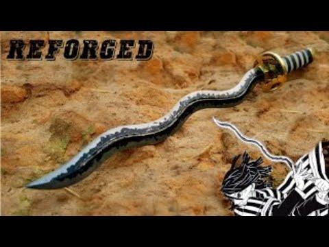 Rèn cây kiếm của Obanai