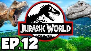 Jurassic World: Evolution Ep.12 - NEW DINOSAURS, PARK EXPANSION, 5 STARS!!! (Gameplay / Let's Play)