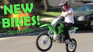 6. I GOT 2 NEW MOTORCYCLES!