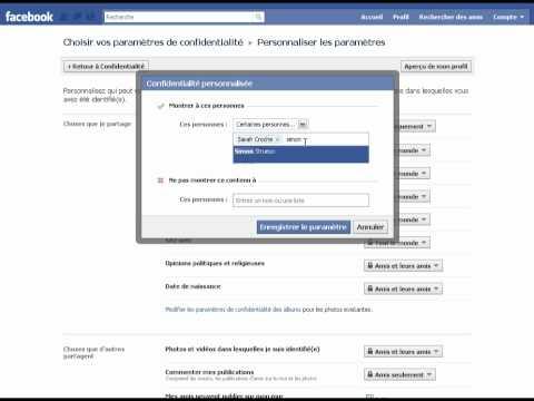 comment modifier mur facebook