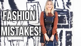 Fashion Mistakes that are OK!