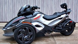 2. SOLD! 2013 Can-Am Spyder RS-S SE5 1,435 Miles