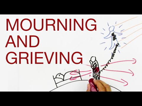 MOURNING and GRIEVING explained by Hans Wilhelm (видео)