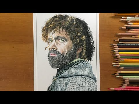 Tyrion Lannister/Game of thrones/Peter Dinklage/Epic timelapse Drawing