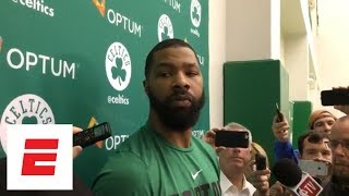 Marcus Morris: 'I'm probably the best' to guard LeBron James besides Kawhi Leonard | ESPN