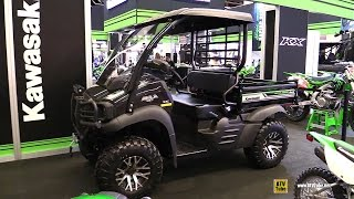 7. 2017 Kawasaki Mule SX XC 400 Utility ATV - Walkaround - 2017 Montreal Motorcycle Show
