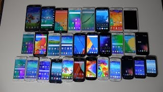 My Samsung Phones!