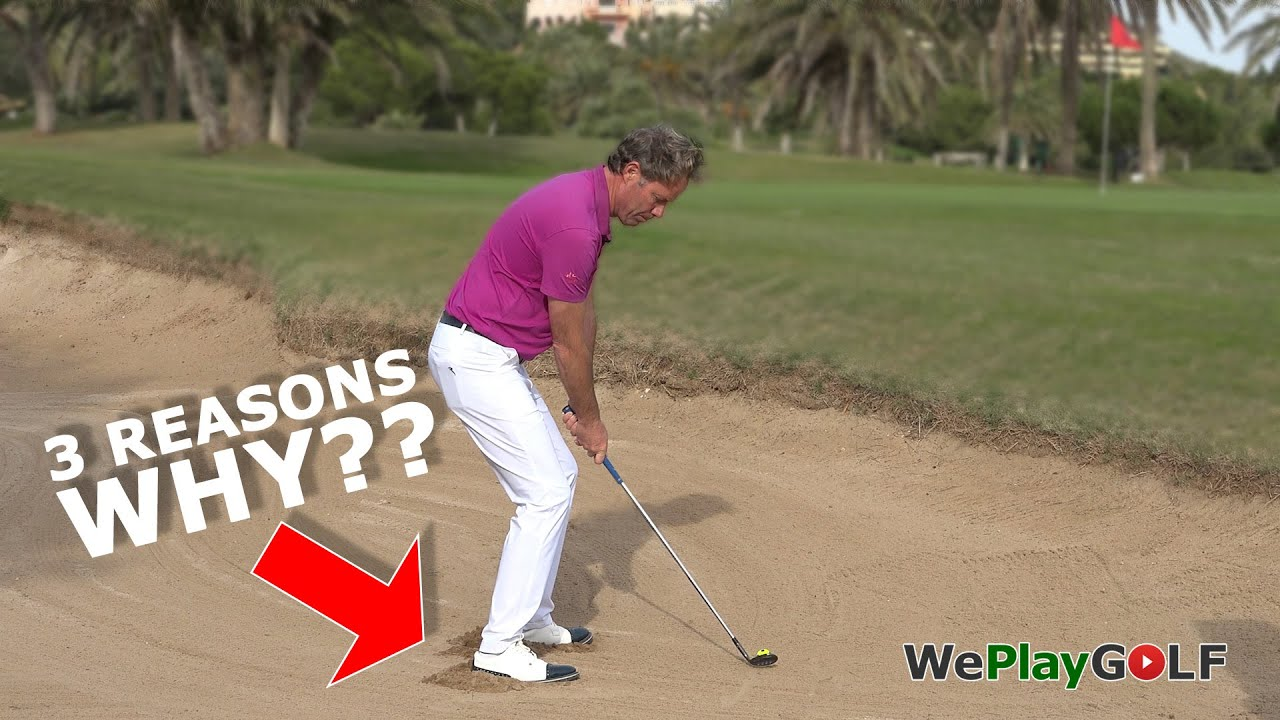 3 Reasons why to wiggle your feet in the sand for a good bunker shot in golf