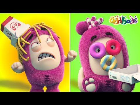 Oddbods | Food Fiasco #6 | Funny Cartoons for Children by Oddbods & Friends