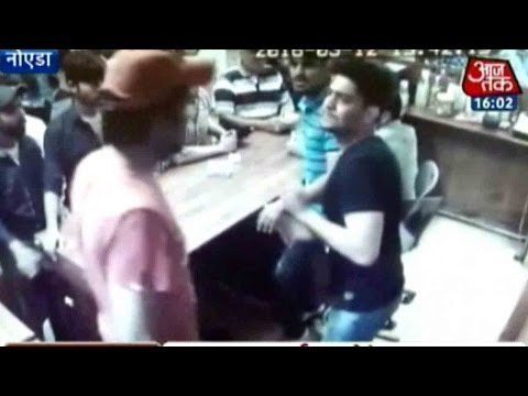 Caught-On-Camera-Restaurant-Owner-Brutally-Thrashed-By-Rich-Brats-In-Noida