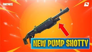 *NEW* HEAVY PUMP SHOTGUN Coming Tomorrow! (Fortnite)