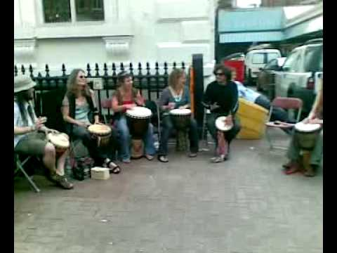 Avirbhav verma Tabla player -Playing djembe part 01 – leicester (UK)