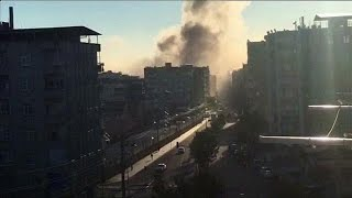 Diyarbakir Turkey  city photos : Turkey: deadly explosion rocks central Diyarbakir - world