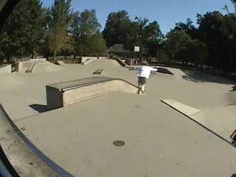 PJ Howell Woodland Skatepark left box session Sep25th