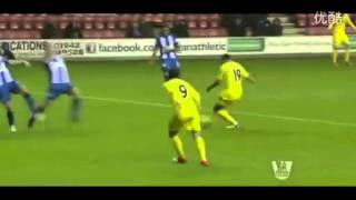 Top 10 Weird Soccer Goals 2012