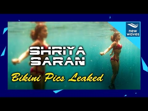 Shriya Saran Latest Bikini Underwater Pics Goes Viral on Social Media | New Waves