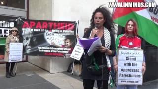 Baaba Maal Cancel Apartheid Israel Performance - London Protest 3 Sept 2016