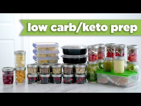 Keto/Low Carb Healthy Meal Prep For The Week! - Mind Over Munch