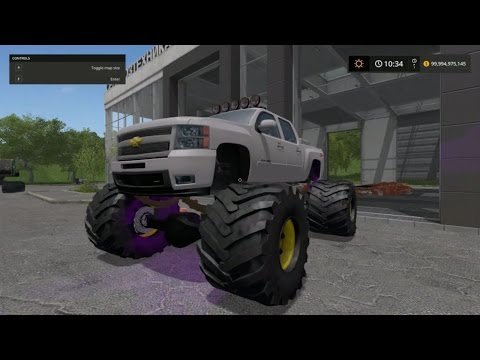 Chevrolet Silverado monster v1.0