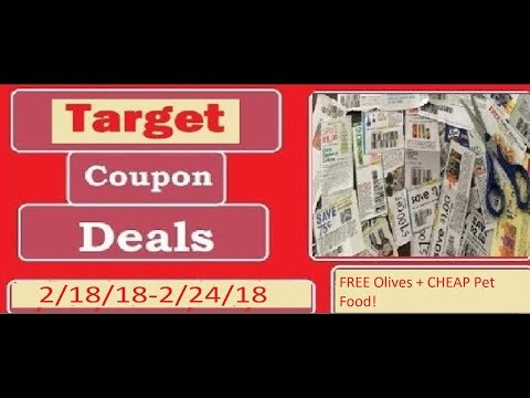 Hair color - Target Couponing Deals- 2/18/18-2/24/18- FREE Olives, Haircolor, + CHEAP Pet Food!