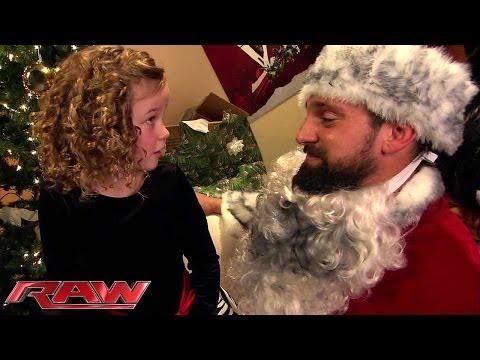 Bad Santa vs. Good Santa on Raw's Christmas special: Part 2 - Monday at 8/7 CT on USA Network