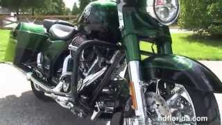 10. 2014 Harley Davidson FLHRSE CVO Road King  - New Motorcycles for sale