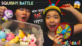 Video SQUISHY BATTLE! Non repro VS Repro | Wet Head!! MP3, 3GP, MP4, WEBM, AVI, FLV November 2018