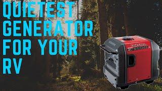 5. Quietest Generator For RV | Honda Eu3000is The Quietest Portable Generator Ever