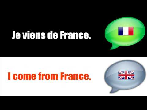 SURVIVAL FRENCH : TALKING ABOUT YOU