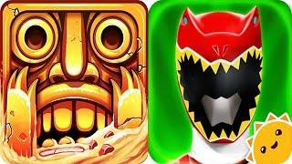 Video Temple Run 2 vs Power Rangers Dino Charge MP3, 3GP, MP4, WEBM, AVI, FLV Agustus 2017