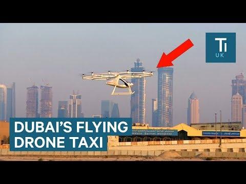 Dubai's new autonomous air taxi makes first successful test flight