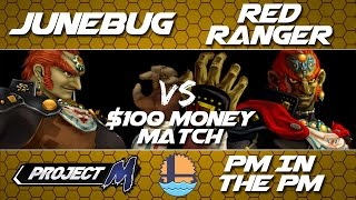 $100 MONEY MATCH | JUNEBUG VS RED RANGER for the title of BEST GANONDORF IN THE WORLD