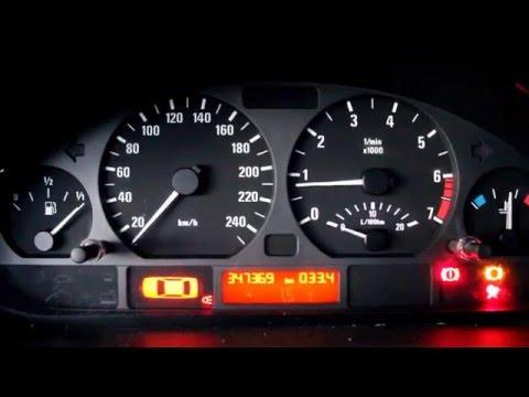 '99 E46 320i stock exhaust sound
