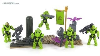 Mega Bloks Halo UNSC Fireteam Venom review! 97350
