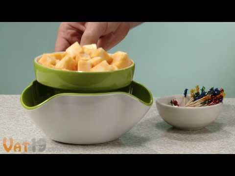 Видео Телемагазин - для кухни Bradex Блюдо для закусок (блюдо для снека)